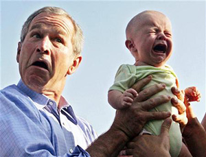 George Bush. Idiot or sage leader?