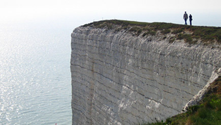 huge cliff