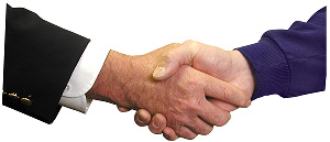 hand shake