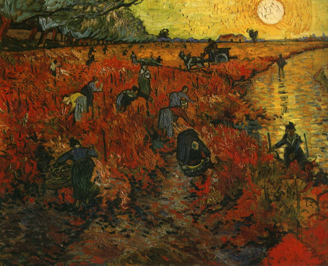 Van Gogh - Read Vineyard