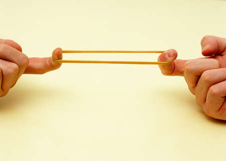 Rubber band dating theory