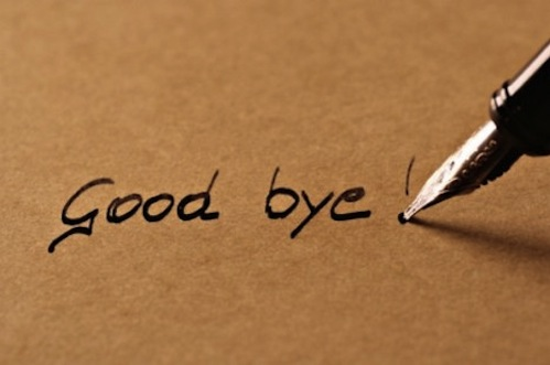 how to say good bye