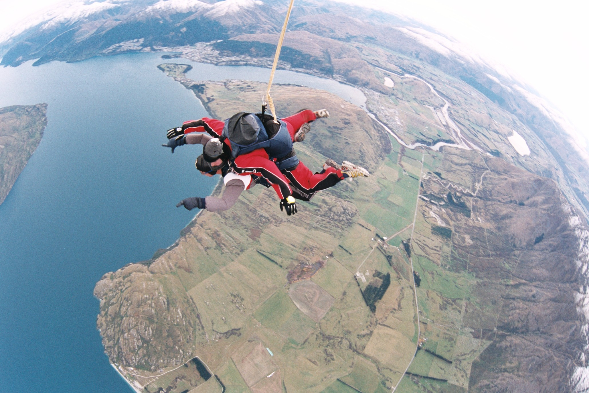 Photos of me sky diving in Quuenstown New Zealand.