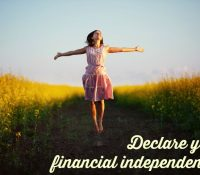 declare your financial independence