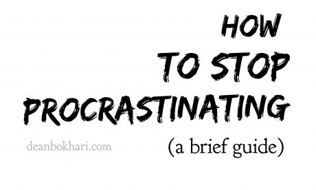 How To Stop Procrastinating (A Brief Guide)