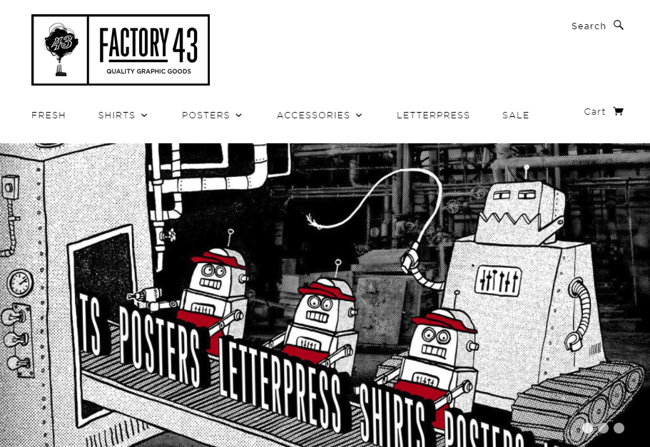 Factory 43 Screenshot