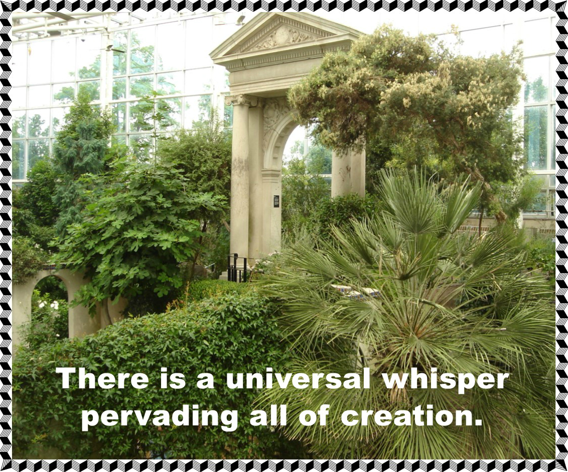 There is a universal whisper