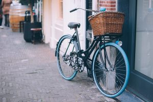 Bicycle image for better habits